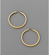 Kenneth Cole® Small Hoop Earrings - Goldtone