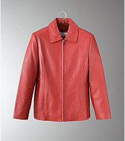 Liz Claiborne® Women's Leather Jacket