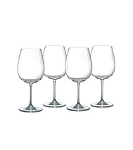 Marquis by Waterford® Set of 4 Vintage Tasting Crystal Deep Red Wine Glasses