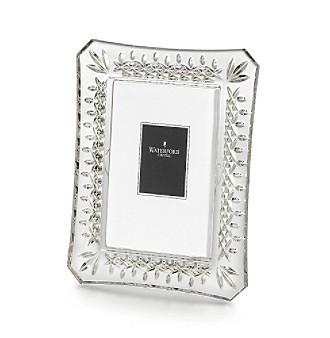 "Waterford® Crystal 4x6"" Lismore Picture Frame"