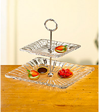 Fifth Avenue Crystal Ltd.® Alexandria 2-Tier Server