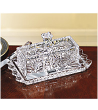 Fifth Avenue Crystal Ltd.® Portico Butter Dish