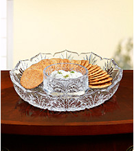 Crystal Clear® Portico Cracker & Dip Tray