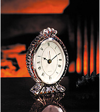Fifth Avenue Crystal Ltd.® Century Oval Clock