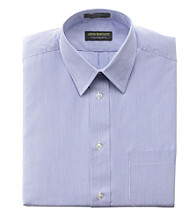 John Bartlett Statements Men's Blue Stripe Dress Shirt
