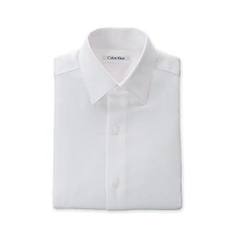 Boys Dress Shirts on Sizes 8 20 Dresswear Calvin Klein Boys 8 20 White Sateen Dress Shirt