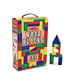 Melissa & Doug® Wood 100 Block Set