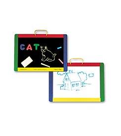 Melissa & Doug® Magnetic Chalkboard/Dry-Erase Board