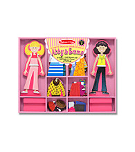 Melissa & Doug® Abby & Emma Magnetic Dress-Up