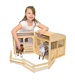 Melissa & Doug® Folding Horse Stable