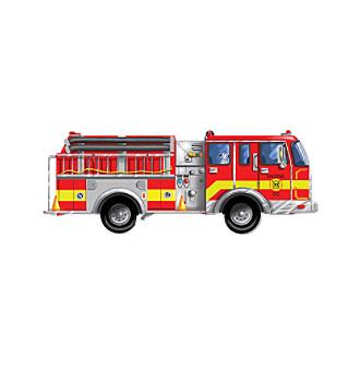 Melissa & Doug® Giant Fire Truck Floor Puzzle