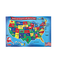 Melissa & Doug® U.S.A. Map Floor Puzzle
