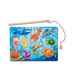 Melissa & Doug® Fishing Magnetic Puzzle Game