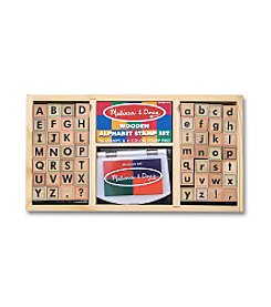 Melissa & Doug® Alphabet Stamp Set
