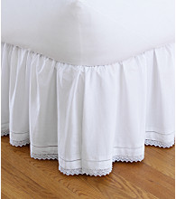 LivingQuarters Crochet Bed Skirt
