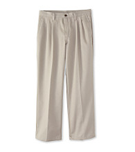 Izod Boys' 4-20 Khaki Pleated Twill Pants
