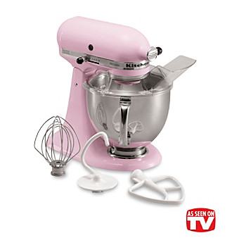 KitchenAid® Artisan® Komen Foundation Pink 5-qt. Stand Mixer + Free Food Grinder Attachment