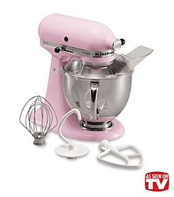 KitchenAid® Artisan® Komen Pink 5-qt. Stand Mixer + FREE Grinder or Shredder see offer details