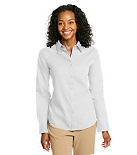 Jones New York Signature® Petites' Buttonfront Shirt - White