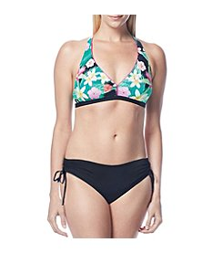 Beach House Crop Back Bikini Top and Side Tie Bottom