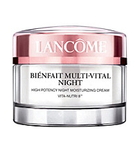 Lancome® Bienfait Multi-Vital High Potency Night Moisturizing Cream VITA-NUTRI 8™