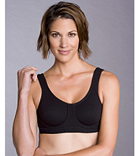 Lily of France® Sport Outside Underwire Pro Shaper Bra - Black