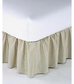 LivingQuarters Ruffle Bed Skirt