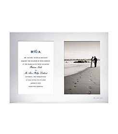 kate spade new york® Darling Point Double Invitation Frame
