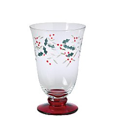 Pfaltzgraff® Winterberry Set of 4 Water Goblets
