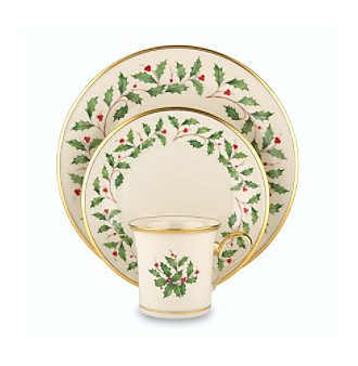 Product: Lenox® Holiday? 12-Piece Dinnerware Set :  housewares home interiors