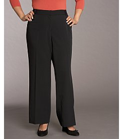 Relativity® Career Plus Size Bi-Stretch Pants