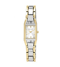 Anne Klein® Women's Two-Tone Link Bracelet Watch