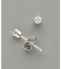 Marsala 14K White Gold .125 ct. t.w. Diamond Stud Earrings