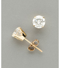 14K Gold 1.0 ct. t.w. Diamond Stud Earrings