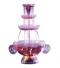 Nostalgia Electrics® Lighted Punch Fountain Beverage Set