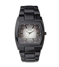 Unlisted by Kenneth Cole® Men's Gunmetal IP Degraday 3 Hand Dial Watch