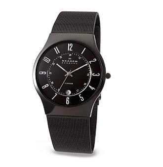 Skagen Denmark Men's Mesh Titanium Watch