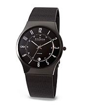 Skagen Denmark Men's Mesh Titanium Watch