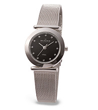 Skagen Denmark Women's Black Dial Glitz Watch