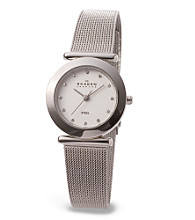 Skagen Denmark Women's Mesh with Glitz Watch