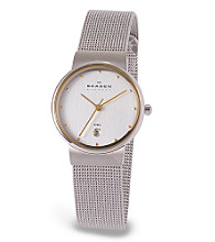 Skagen Denmark Women's Round Steel Mesh Watch