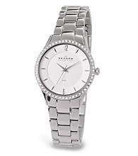Skagen Denmark Women's Steel and Crystal Watch