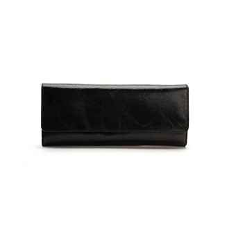 "Hobo ""Sadie"" Black Wallet"