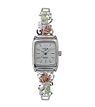 Black Hills Gold Tricolor Sterling Silver Women's Watch
