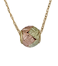 Black Hills Gold 10K Ball Pendant
