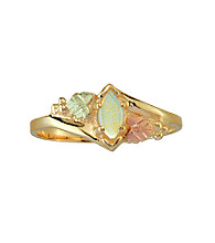 Black Hills Gold 10K Opal Ring