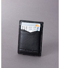 Fossil® Men's Magnetic Front Pocket Wallet - Black