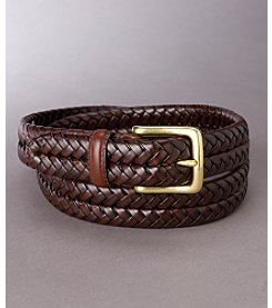 Fossil® Men's Maddox Leather Braid Belt