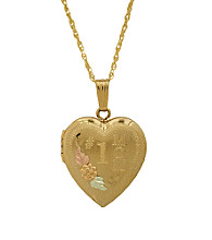 Black Hills Gold Gold-Filled Mom Locket