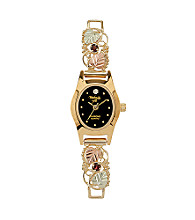 Black Hills Gold Women's Garnet Watch
